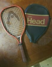 Vtg Head Racquetball Racquet 3-5/8 Professional w/case racketball racket