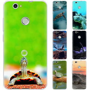 Dessana Turtle TPU Silicone Protective Cover Phone Case For Huawei