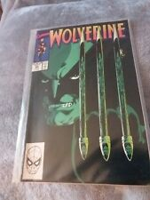 Marvel Wolverine - Issue 23. Comic near mint condition dust cover faded with age