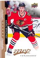 18/19 UPPER DECK MVP HIGH SERIES SP #215 JONATHAN TOEWS BLACKHAWKS *53492
