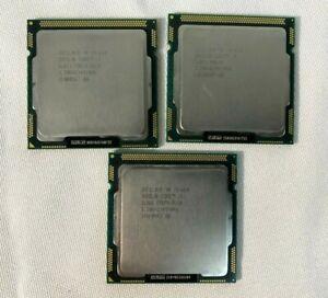 Lot 3 Intel Core i5-650 3.20GHz Dual-Core LGA1156 Socket CPU SLBTJ TESTED