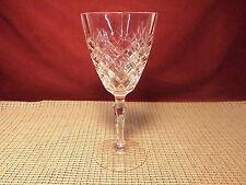"Cristal de Flandre Dauphine Pattern Water Goblet 7 1/4"""