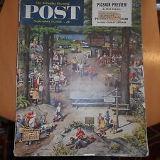 original sept 11 1954 saturday evening post