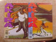 Lote de 2 Comics, Akira, nº 29 y 30, Katsuhiro Otomo, Dragón/Glénat, 1991