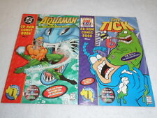 Cd Rom Comic Books The Tick / Aquaman War Of The Water Worlds