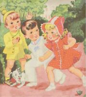 Ready, Set, GO 1950's Retro Kids DIGITAL Counted Cross Stitch Pattern Chart