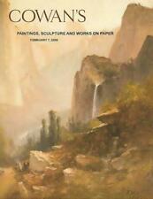 Cowan's Paintings Sculpture & Works on Paper Auction Catalog 2/7/08