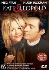 Kate & Leopold [ DVD ] Region 4, LIKE NEW, Fast Next Day Post...7654