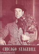 """Joe E. Brown """"HARVEY"""" Mary Chase / Pulitzer Prize 1946 Chicago Playbill"""