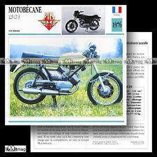 #046.07 MOTOBECANE 125 LT3 1976 Fiche Moto Motorcycle Card