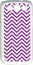 Chevron Purple Designed Samsung Galaxy S3 Case Cover