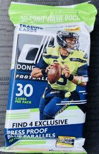 2020 Donruss Football 30 Card Value Pack - Brand New!! Burrow Tua RC