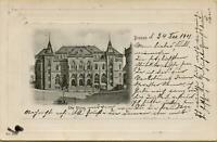 1966: Postkarte Ansichtskarte Bremen Die Börse 1901 nach Neuwied