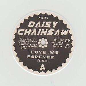 """Daisy Chainsaw- Love Me Forever UK white vinyl 7"""" single."""