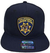 California Highway Patrol CHP Hat Navy Snapback