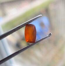 NEW FIND SMALL POCKET IN TANZANIA BURNT ORANGE OPALw/BRIGHT ORANGE GLOW .60CT.