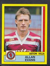 Panini Football 1987 Sticker - No 27 - Allan Evans - Aston Villa  (S885)