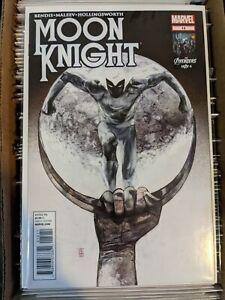 Moon Knight #12 Bendis Maleev 2012 marvel comics low print