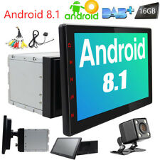 10.1 inch Android 8.1 Detachable Car GPS Stereo Navi Touch Screen No-dvd Radio