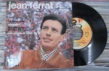 """JEAN FERRAT -LA MONTAGNE / AUTANT D'AMOUR- 1964 FRENCH 7"""" EP PS CHANSON"""