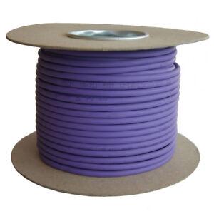 Cat5e Solid LSZH Cable Reel Violet 100% Copper Data Networking Ethernet lot