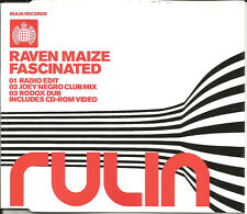 RAVEN MAIZE w/ JOEY NEGRO Fascinated CLUB MIX & DUB & VIDEO CD Single SEALED