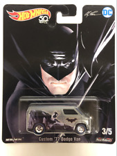 Hot Wheels 50th Batman Custom 77 Dodge Van FKY27 New