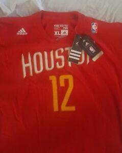Houston Rockets NEW Adidas Red Net Number Jersey Shirt Size XL (Dwight Howard)