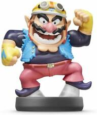 Nintendo Super Smash Bros Amiibo Wario Black Base Wii U 3DS Switch Figure