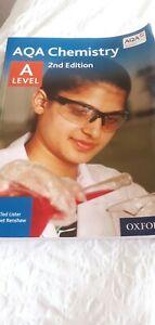 Aqa a level chemistry textbook