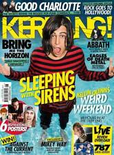 KERRANG MAGAZINE NUMBER 1608 SLEEPING WITH SIRENS ~ ABBATH ~ AGAINST THE CURRENT
