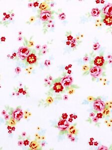 Lecien Antique Flower Little Flower Bouquets 31422 Fabric BHY