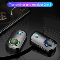Car Bluetooth 5.0 Stereo MP3 Player Transmitter Receiver Wireless Audio Adapter