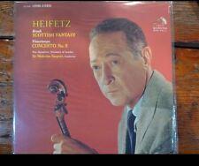 Classic Records LP 1rst Ed. New Symph. London Heifitz Scottish Fantasy Lsc2603
