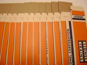 Lionel 6464  Licensed Reproduction Boxes (set of 12)-unnumbered