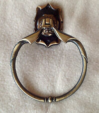 Vintage Brass Amerock Carriage House Towel Ring