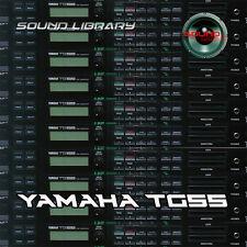 YAMAHA TG55 HUGE Original Factory & New Created Sound Library/Editors on CD