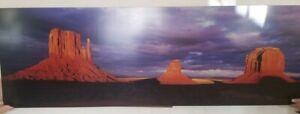 Monsoon Sunset Fine Art Print by MARTII Panoramic Landscape Desert Scene