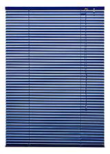 Aluminium Jalousette Alu Jalousie Fenster Tür Rollo Dunkelblau Marine 120 x 160