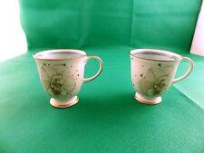 Susie Cooper Azalea 2 x Demitasse Coffee Cups