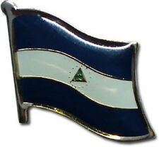 Nicaragua Country Flag Bike Motorcycle Hat Cap lapel Pin