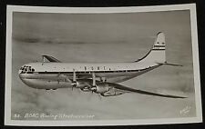 VINTAGE - B.O.A.C. - BOEING 377 STRATOCRUISER. - ENELL INC REAL PHOTO - POSTCARD