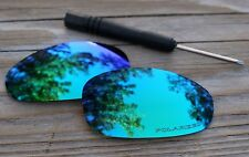 New Polarized Jade Emerald Blue Green Mirrored Sunglass Lenses for Oakley Juliet