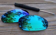 Polarized Jade Green Mirrored Sunglass Lenses for Oakley Juliet- Purple Tint