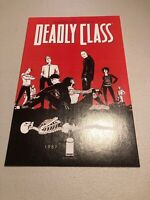 Image DEADLY CLASS #1 2nd print 2014 First Appearances SYFY Remender Craig VF/NM