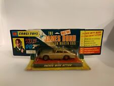 CORGI TOYS TRES RARE VERSION ASTON MARTIN JAMES BOND 270 COMPLÉTE 100% ORIGINAL