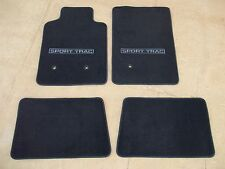 2007 2008 2009 2010 FORD EXPLORER SPORT TRAC CARPETED FLOOR MATS BLACK 4 PC SET