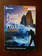 New! Sealed! Corel Paint Shop Pro X7 Ultimate