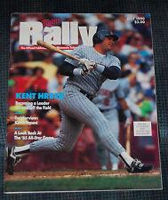 Minnesota Twins Rally Magazine July1990 Kent Hrbek on Cover