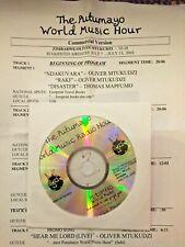 RADIO SHOW 7/7/03 PUTUMAYO ZIMBABWE/OLIVER MTUKUDZI (5),DOROTHY MASUKA,CHIWONISO